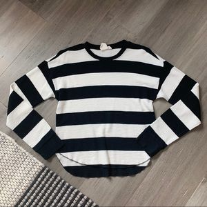 White Crow (Tilly's) Striped Sweater